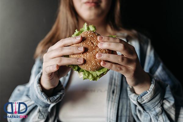 برنامه غذایی مناسب برای چاق شدن