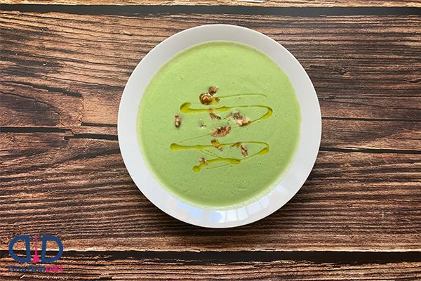 سوپ سبزیجات رژیمی بدون مرغ