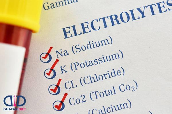 نقش الکترولیت ها در بدن