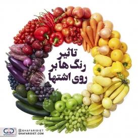 . ?کسانی که سعی در کاهش یا افزایش وزن دارند با افزایش آگاهی خود از تاثیر رنگ ها روی اشتها می توانند در کنار دیگر تلاش های خود از این ترفند نیز استفاده کنند. . ⚪ رنگ سفید غذاهای سفید رنگ را به سادگی برمی داریم و فراموش می کنیم که کالری دارند. . ?رنگ سبز وقتی غذایی سبز باشد آن را سالم می دانیم از این رو مغز با دیدن این رنگ اشتها را افزایش می دهد. خوردن غذاهایی که رنگشان سبز است باعث می شود فرد بدون داشتن احساس گناه مقدار زیادی غذا بخورد. بنابراین سبز نیز از رنگ های اشتها آورند. . ❤رنگ قرمز شدت و قدرت این رنگ نه تنها باعث بالا رفتن فشار خون می شود بلکه سطح اشتها را نیز افزایش می دهد. اکثر محیط رستوران ها و … رنگ قرمز را دارند چون سبب تحریک مردم به غذا خوردن می شود.  ? رنگ آبی رنگی ضد اشتهاست.  رنگ آبی به این دلیل ضد اشتهاست که در طبیعت به ندرت یافت می شود ( گوشت ها و گیاهان) . ?رنگ زرد رنگ زرد محرک اشتهاست چون موجب برانگیختن احساس شادی میشود. جوجهکباب یکی از خوشمزهترین خوراکیهایی است که به این طیف نزدیک است. این روزها استفاده از فلفل زرد نیز به شدت مورد توجه آشپزها قرار گرفته است چون ترکیب اشتهابرانگیزی به غذا میدهد. . ?رنگ قهوه ای،خاکستری،مشکی همه این رنگ ها با کاهش اشتها در ارتباط هستند. به دلیل اینکه خاکستری و مشکی تصور کپک زدگی و خرابی را در ذهن فرد به وجود می آورند و قهوه ای نیز ذهن را به سمت سوختگی می برد. همه این موارد می توانند روی کاهش اشتها کمک کنند. ________________________________________ ?لطفا نام و نام خانوادگی خود را به شماره 30005905 پیامک کنید تا در قرعه کشی ماهانه شرکت داده شوید.  @ghafaridiet  ______________________________________ ❌لطفا بدون ذکر منبع از پست ها استفاده نشود❌ . #آموزش #کاهش_وزن #افزایش_وزن #رژیم_چاقی #رژیمی #رژیم_لاغری #رژیم #چاقی #لاغری #تناسب_اندام #غذای_سالم #غفاری_دایتی #غفاری_دایت #سوپ_رژیمی #مرغ#حبوبات #کالری #کالری_سوزی #سینوزیت #اشتها #ویتامین #دایت #تغذیه_مناسب  #ghafaridiet #diet #healthyfood #healthy #healthylifestyle #fat #ghafari