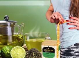 چای سبز و لاغری