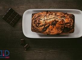 به راحتی کیک رژیمی خوشمزه درست کن!