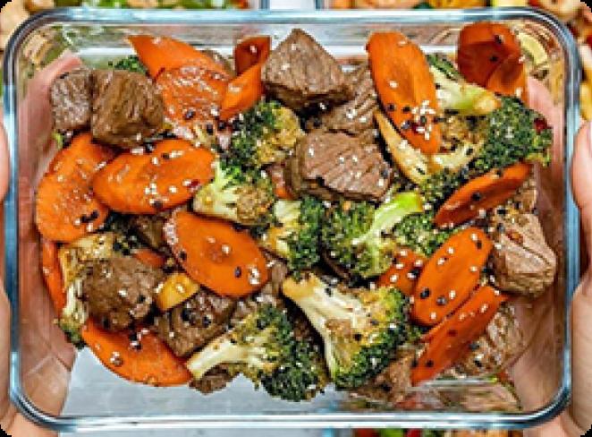 سبزیجات به جای برنج