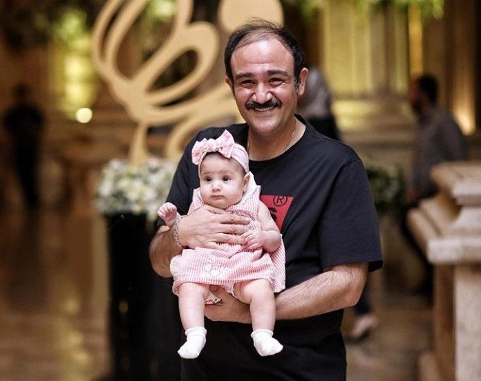 انگیزه رژیم لاغری مهران غفوریان: میخواهم برای دخترم سالم باشم